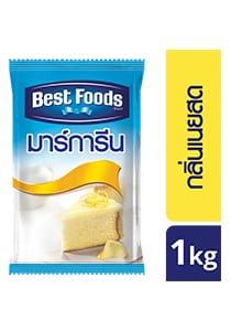 BEST FOODS Butter Flavoured Margarine 1 kg - Able to substitute butter 100%