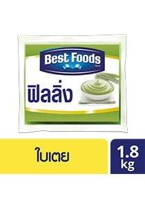 BEST FOODS Pandan Custard Flavoured Filling 1.8 kg -