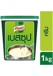 KNORR Cream Soup Base 1 kg - Knorr cream soup base with classic western taste ready in 3 processes and 10minutes