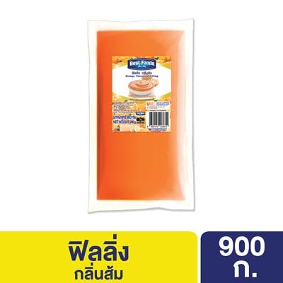 ฟิลลิ่ง กลิ่นส้ม ตราเบสท์ฟู้ดส์ 900 กรัม -