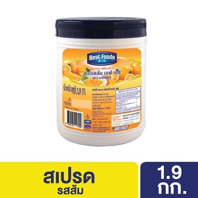 BEST FOODS Orange Spread FS 1.9 kg -