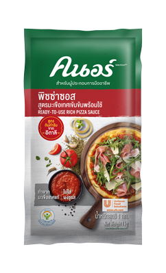 KNORR SELECTIONS Pizza Sauce 1 kg - Knorr Selection™ Ready-to-Use Rich Pizza Sauce allows you to easily create your signature pizza