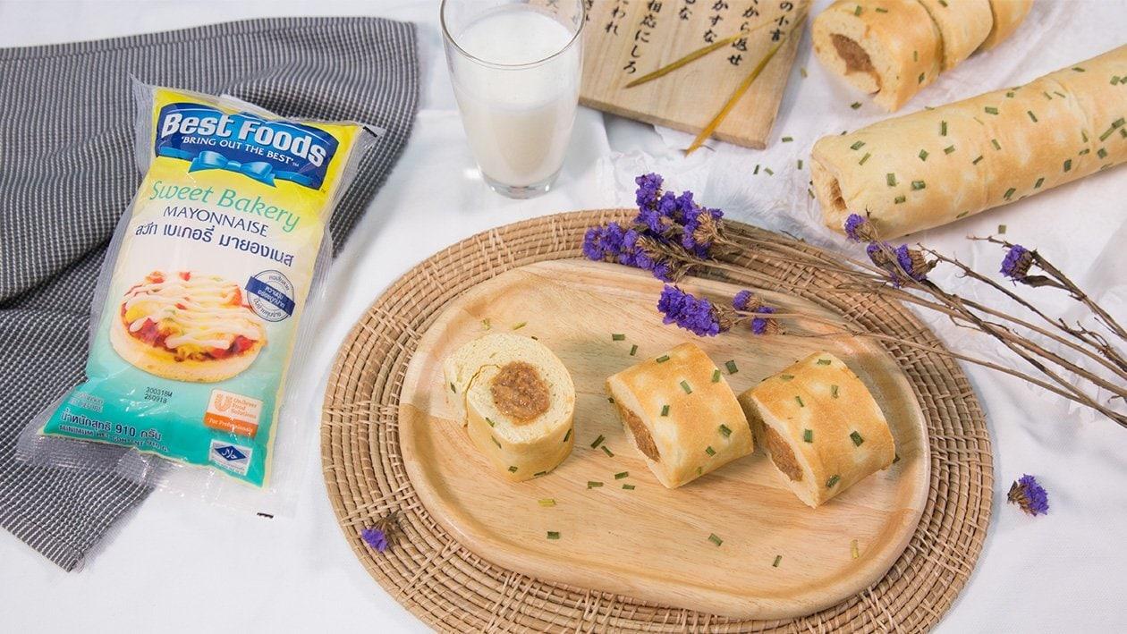 Bread Roll with Pork Floss Mayonnaise