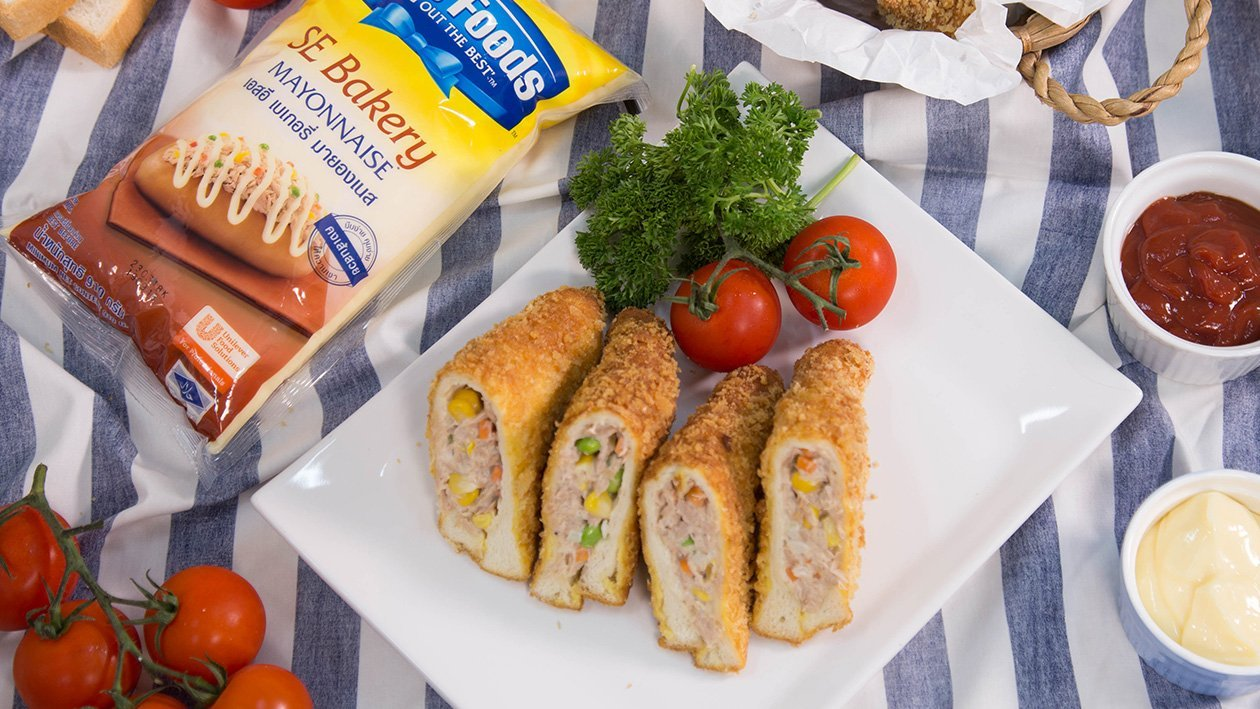 Fried Sandwich with Tuna Salad